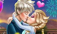 Bisous d'amour Elsa et Jack