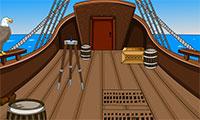 S'échapper du bateau pirate