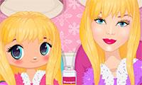 Barbie et sa fille à relooker