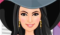 Kim Kardashian : Habillage et Maquillage