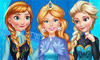 Barbie voyage chez la reine des neiges