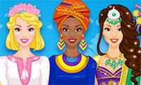 Habiller des filles du monde entier