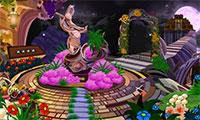 Prisonnier dans un jardin magique