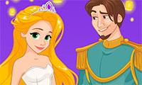 Mariage de princesse Raiponce à Paris