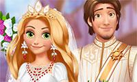 Mariage médiéval de princesse Raiponce