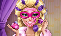 Super Barbie Vrai Maquillage