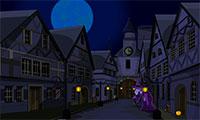 Evasion de la ville d'Halloween