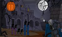 Evasion du palais d'Halloween