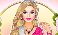 Habiller Barbie Miss Monde