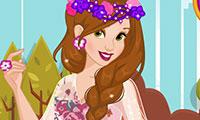 Princesse Belle Habillage d'automne