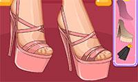 Création de chaussures à talons hauts pour Barbie