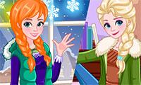 Habiller Elsa et Anna pour l'hiver