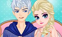 Habiller Elsa pour un rendez-vous avec Jack
