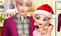 Préparer Noël avec Elsa et Jack