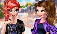 Tenue d'hiver à la mode pour fille